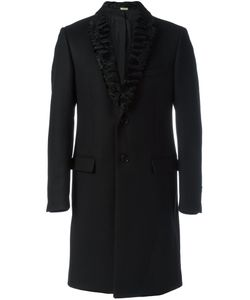 Fendi | Lamb Fur Lapel Coat 52 Wool/Cashmere/Polyamide/Lamb Fur