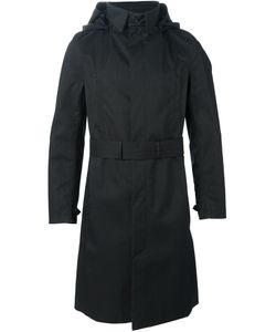 Norwegian Rain | Belted Hood Coat Medium Polyester/Recycled Polyester/Cashmere