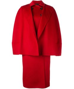 Agnona | Double-Breasted Oversized Coat 38