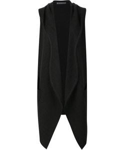 Denis Colomb | Hooded Wrap Gilet Women Small