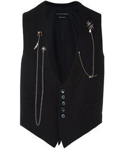 Alexander McQueen | Chain Embellished Waistcoat