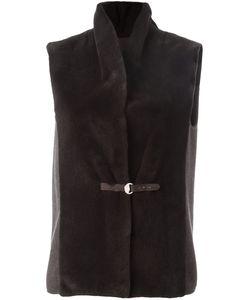 Manzoni 24 | Dunkel Vest 42 Cashmere/Acetate/Silk/Mink Fur