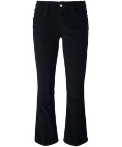 Frame Denim | Cropped Flared Trousers 29 Cotton/Spandex/Elastane