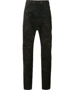 11 By Boris Bidjan Saberi | Printed Regular Pants Medium