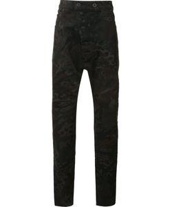 11 By Boris Bidjan Saberi | Printed Regular Pants Medium