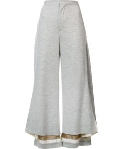 Undercover   Wide Leg Cropped Pants