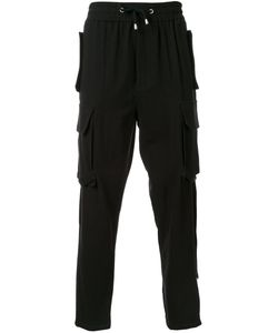 Cy Choi | Elasticated Waistband Drop-Crotch Trousers 48 Cotton
