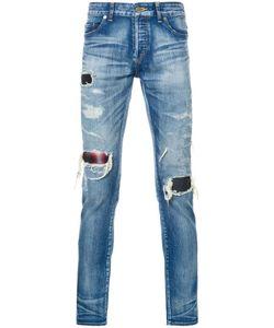 Hl Heddie Lovu | Distressed Skinny Jeans Adult Unisex 31