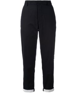 Ann Demeulemeester Grise | Tapered Cropped Trousers 40 Cotton