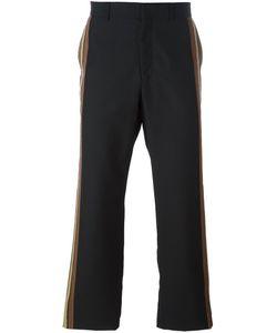 Ports | 1961 Vertical Stripe Trousers 46 Virgin Wool/Viscose/Polyamide/Cupro