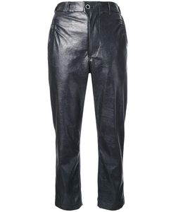 Julien David | Cropped Trousers Women Small