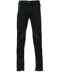 Christian Dada   Ripped Skinny Jeans 46 Cotton/Polyurethane