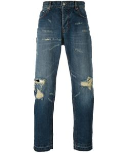 AMI Alexandre Mattiussi | Distressed Carrot Fit Jeans 32