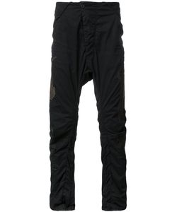 11 By Boris Bidjan Saberi | Embroidered Trousers Large