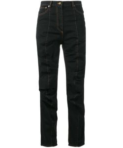 Y / Project | Ruched Jeans 36 Cotton