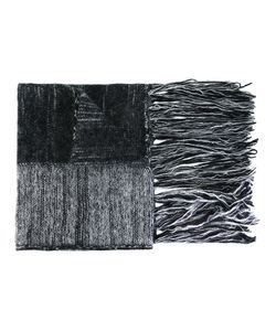 Ilaria Nistri | Fringed Striped Scarf Polyamide/Mohair/Alpaca/Merino