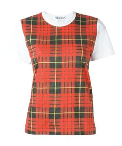 Comme Des Garçons Comme Des Garçons | Checked Shortsleeved T-Shirt