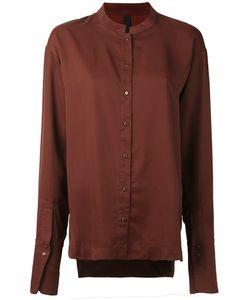 Ilaria Nistri | Mandarin Neck Shirt 44 Cupro