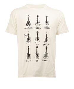 The Soloist | Guitar Print T-Shirt 48 Cotton