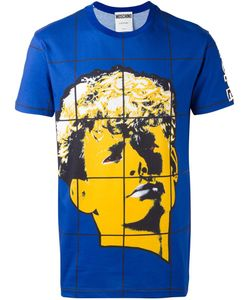 Moschino | Face Print T-Shirt 48 Cotton