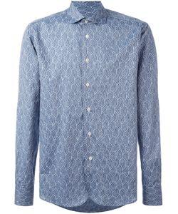 Al Duca D'Aosta | 1902 Embroidered Shirt Medium Cotton