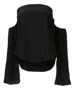 Piamita | Off-Shoulder Blouse Small Silk