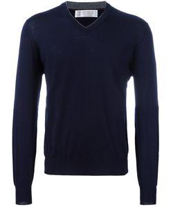 Brunello Cucinelli | V-Neck Jumper 56 Cashmere/Wool