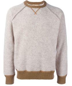 Al Duca D'Aosta | 1902 Contrast Trim Knitted Sweatshirt Medium