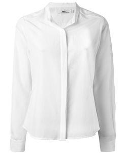 Hope | Band Collar Shirt 34 Silk/Cotton