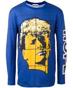 Moschino | Face Print T-Shirt 46 Cotton