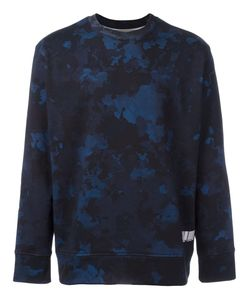Casely-Hayford | Camouflage Print Sweatshirt Small Cotton