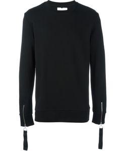 Matthew Miller | Zipped Cuff Sweatshirt Small Cotton