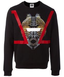 Les Hommes Urban | Mask Print Sweatshirt Xl Cotton