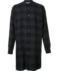 Robert Geller   The Long Plaid Shirt 46 Cotton