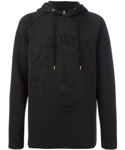 Astrid Andersen | Embroidered Logo Hoodie Large Polyester