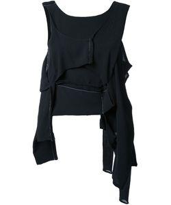 Eckhaus Latta | Asymmetric Deconstructed Top Silk