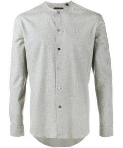 Curieux   Collarless Shirt 16 Cotton