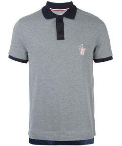 Moncler Grenoble | Contrast Collar Polo Shirt Xl Cotton/Polyamide