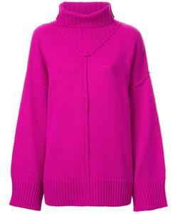 G.V.G.V. | Raw Edge Turtleneck Pullover Xs Wool