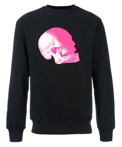 Cy Choi | Skull Print Sweatshirt Large Cotton/Polyester