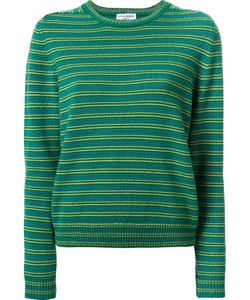 Sonia Rykiel | Striped Pullover Large Cashmere