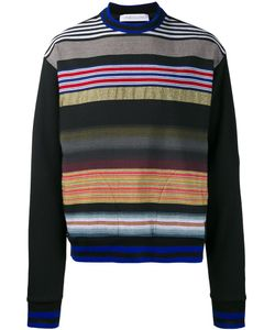 James Long | Striped Sweatshirt Small Cotton/Viscose/Polyester/Acrylic