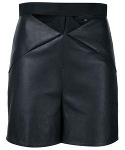 Iris Van Herpen | Upfold Leather Shorts