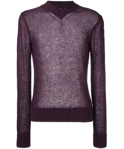 Al Duca D'Aosta | 1902 V-Neck Sweater Large Wool/Acrylic/Mohair/Polyamide