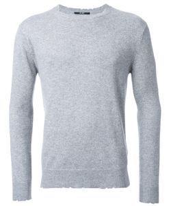 Hl Heddie Lovu | Damaged Jumper Large Cotton/Wool/Rayon/Nylon