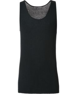 Denis Colomb | Ribbed Tank Top Medium Silk/Cashmere