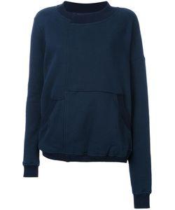 A.F.Vandevorst | Panelled Sweatshirt Large Cotton