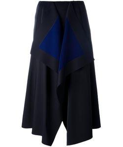 Cédric Charlier | Asymmetric Mid Skirt 42 Polyester