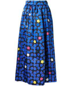 Ingie Paris   Jacquard Full Skirt 42 Silk/Polyester