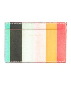 Paul Smith | Striped Cardholder Calf Leather